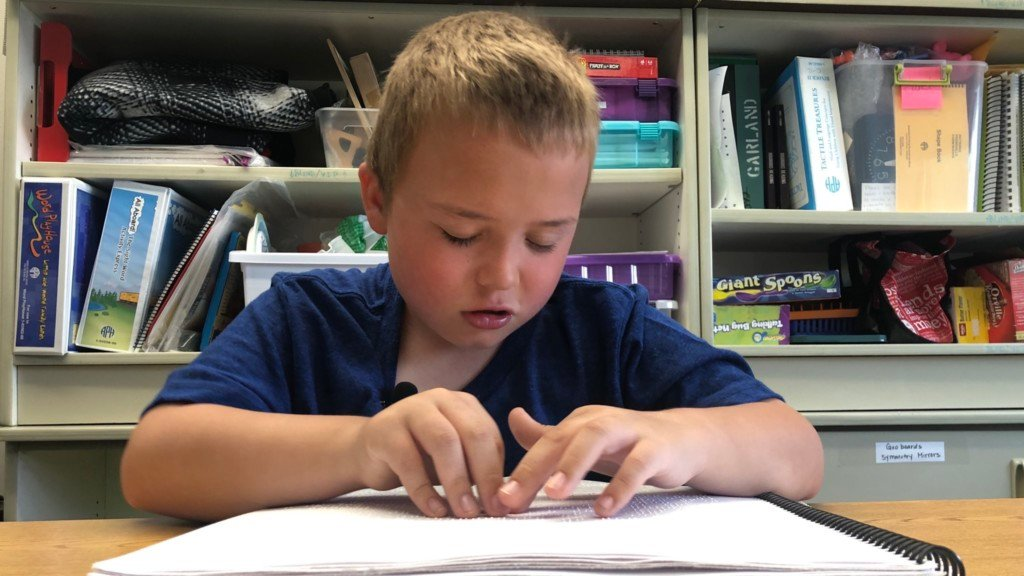 Garfield Elementary second grader set to compete at Braille Challenge National Finals