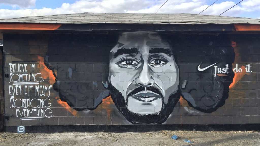 Kaepernick mural goes up in Yakima amid Nike ad controversy