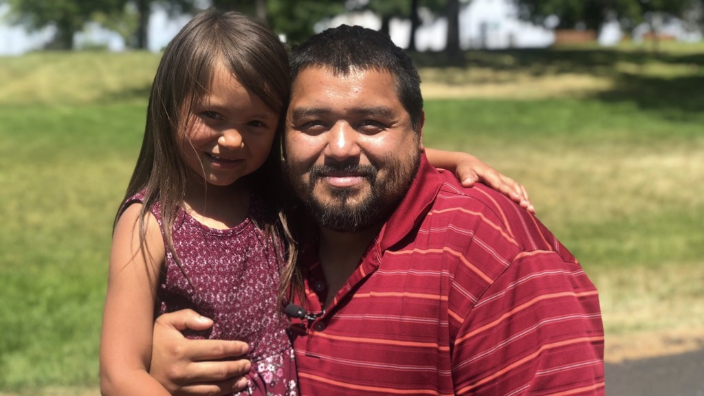 'I'm speechless right now': Spokane man overcomes addiction to spend Father's Day with kids