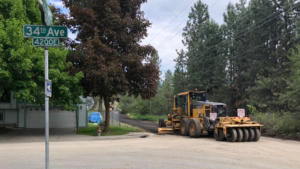 Spokane begins three-year grading project