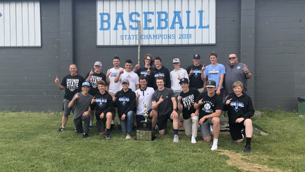 Freeman High baseball team honored at assembly after winning state