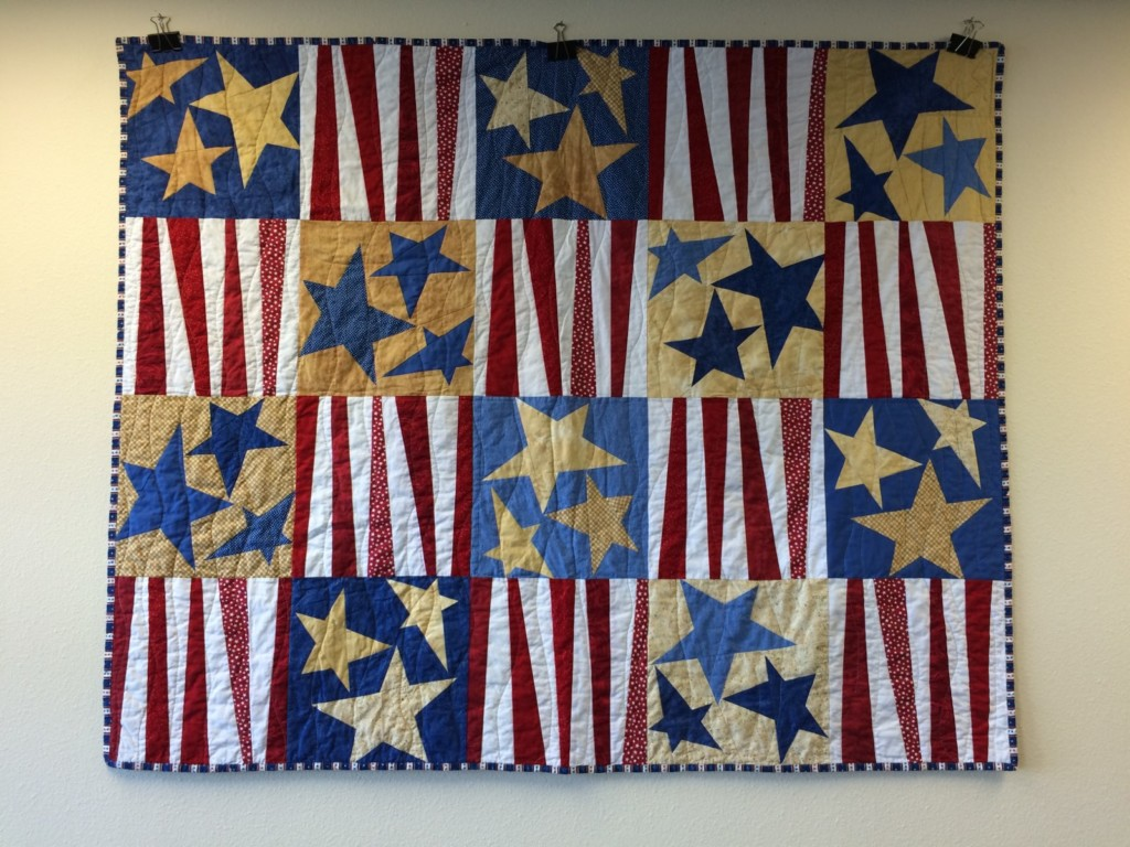 Local Veterans: Win a free quilt!