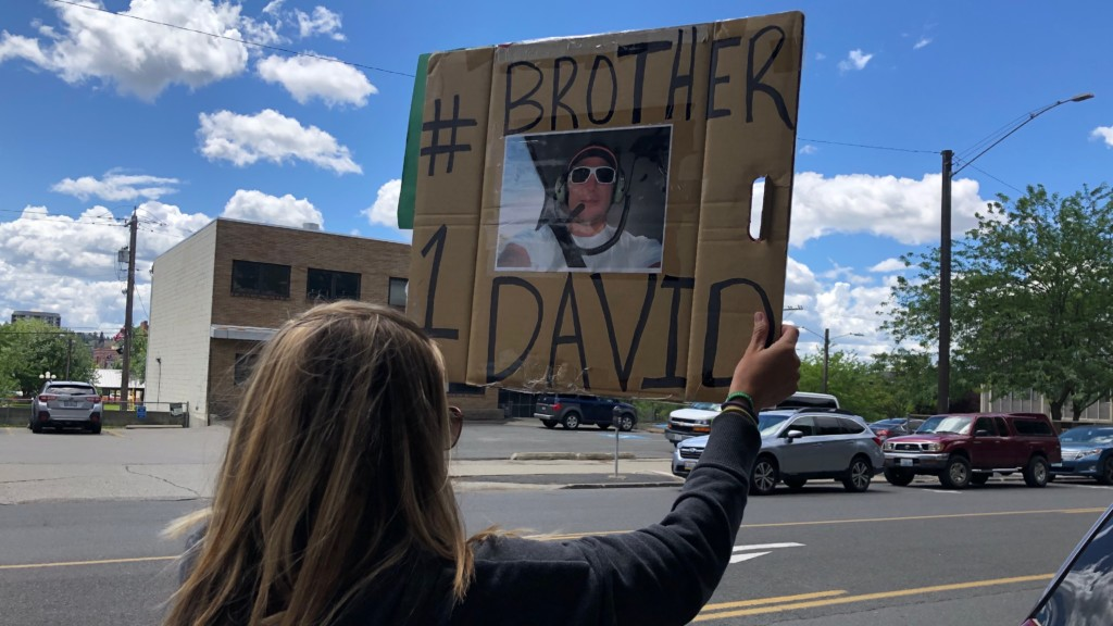 'I want my son back': family of man killed by Spokane Police hold monthly protest