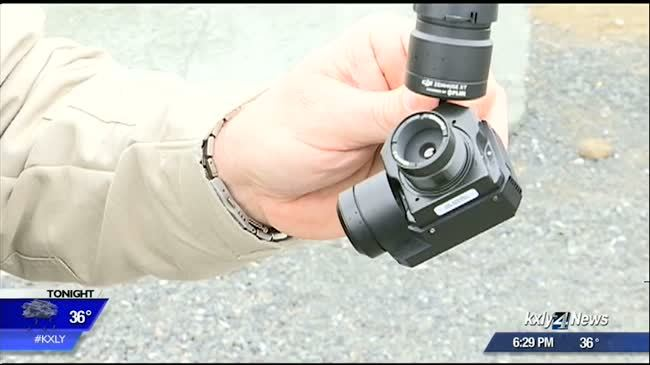 In hot pursuit: Thermal drone cam helps catch suspects