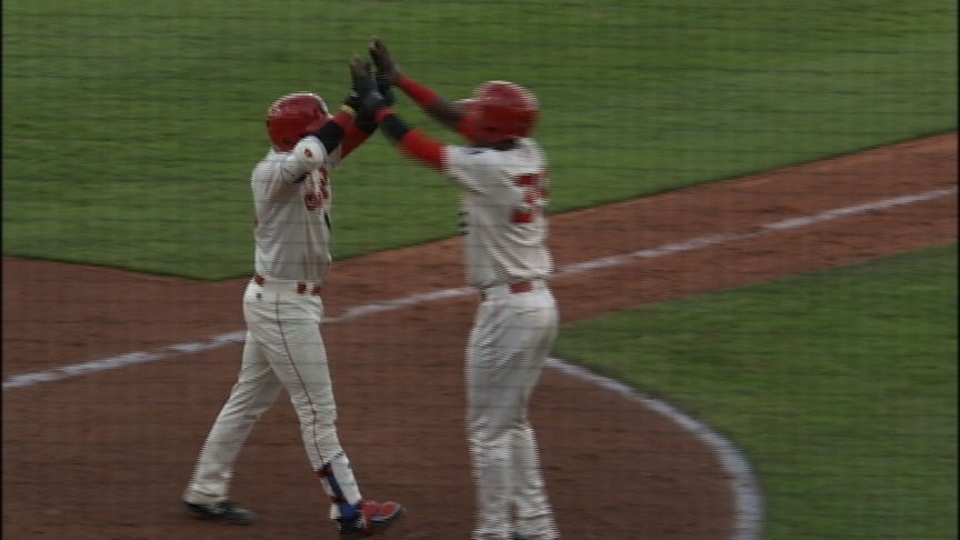 Spokane Indians homer three times in home opener, take down Boise 9-4