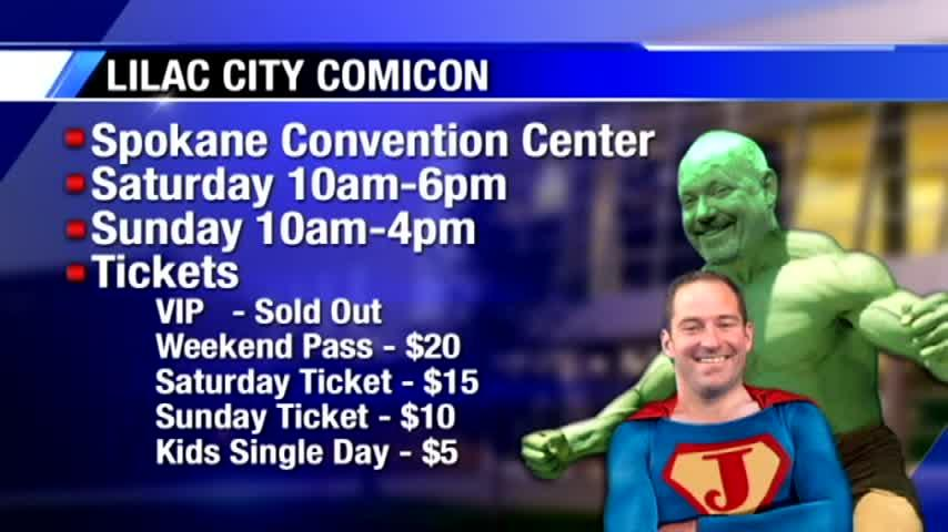 The 12th annual Lilac City Comicon is here