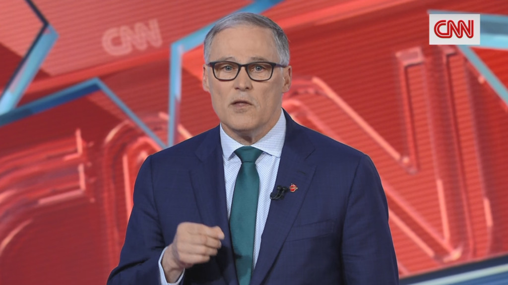 Jay Inslee announces he will run for a third term as governor