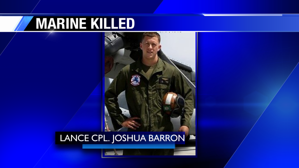 Mom of killed Marine: He loved flying, proud of his job
