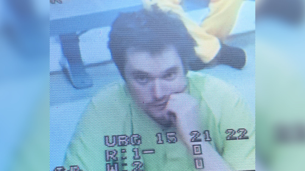 Joshua Forrester in his first court appearance