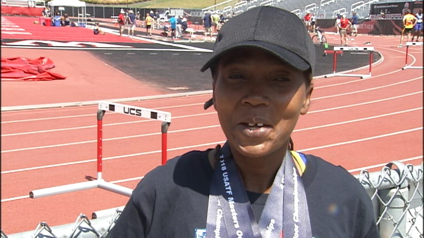 Euleen Josiah-Tanner cleans up 5 medals at the USATF Master's Championship