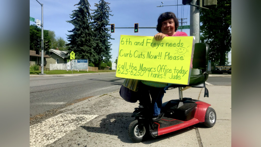 Local woman advocates for safer sidewalk in East Central
