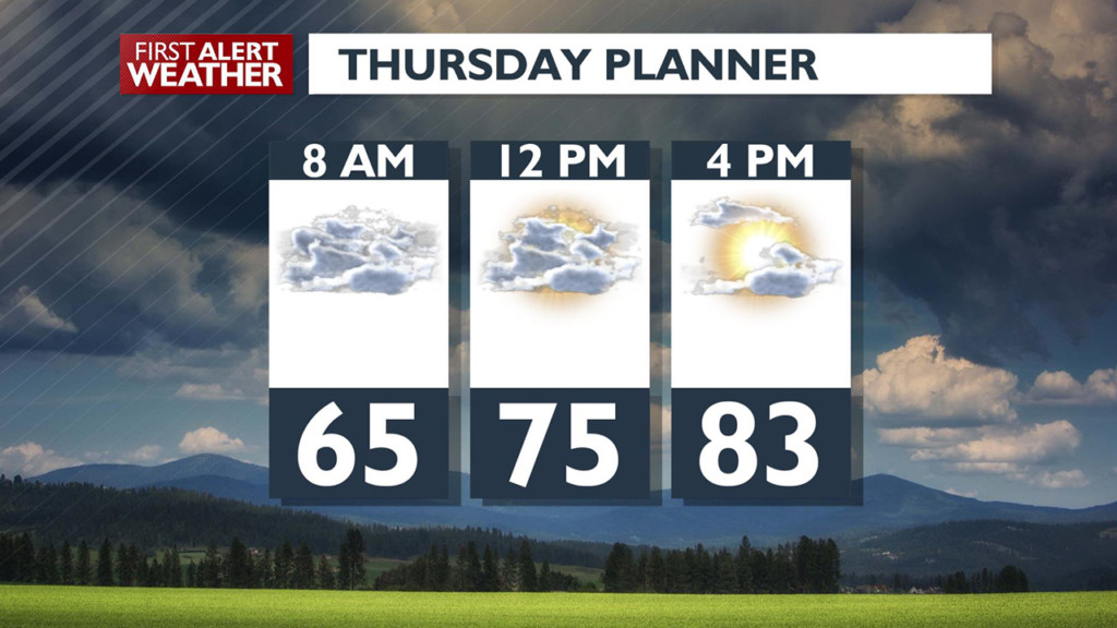 Say goodbye to the rain! Sunny skies are in the forecast