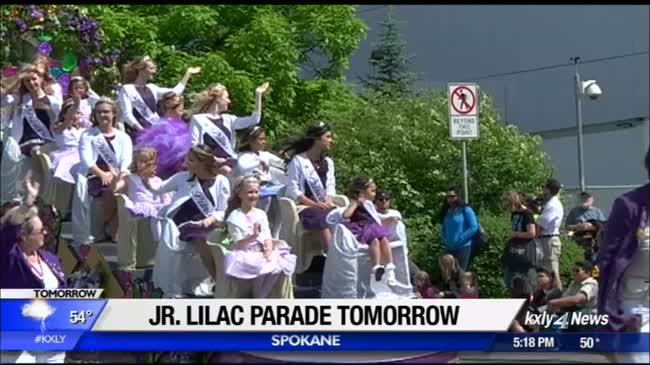 It's time for the Junior Lilac Parade
