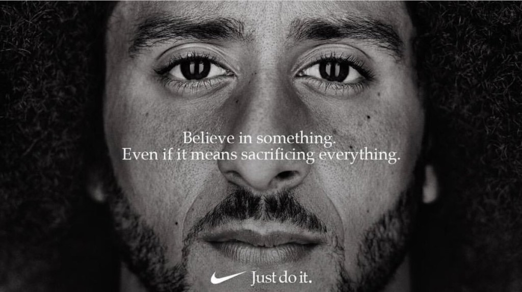 Kaepernick the new face of Nike Just Do It campaign