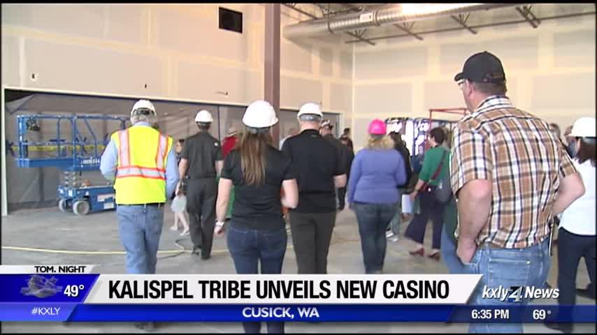 Kalispel Casino to open in Cusick Friday