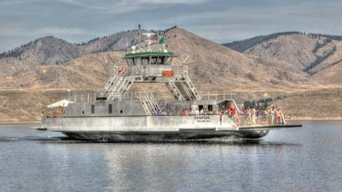 Keller Ferry out of service through early October as crews replace terminal, pontoons