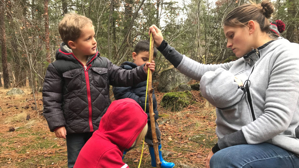 'It's teaching kids to take risks:' Spokane Valley outdoor preschool holds first day of class