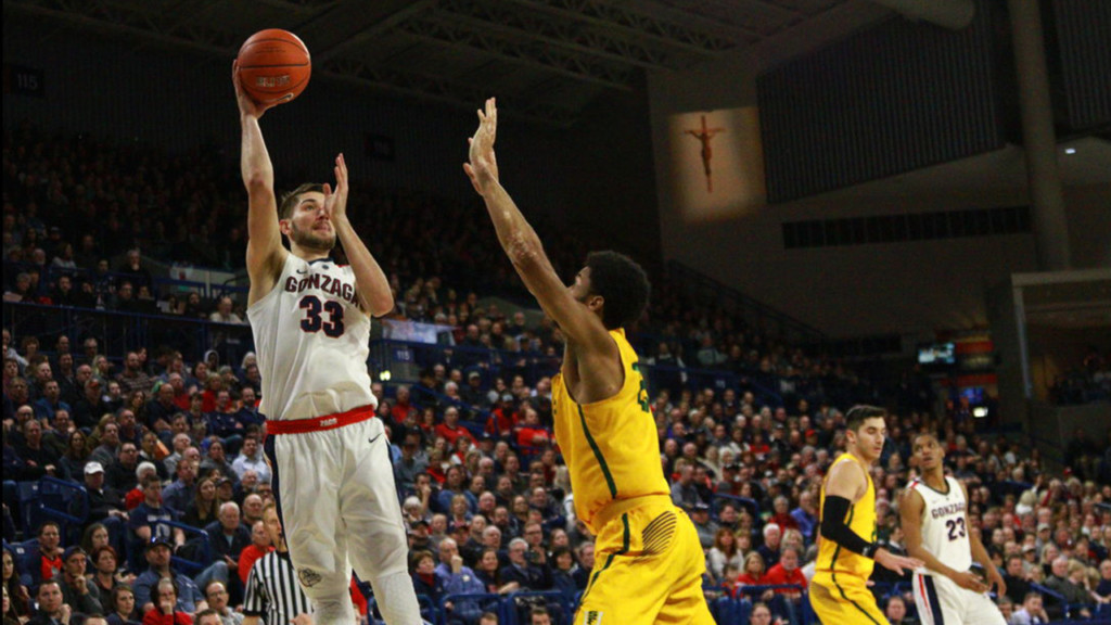 Gonzaga's Killian Tillie out indefinitely after undergoing knee surgery