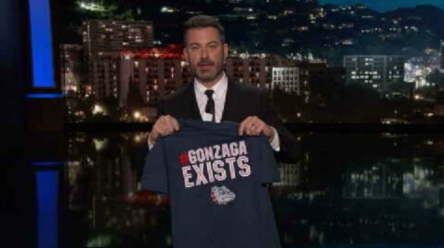 Kimmel-Gonzaga feud generates over $800K in free advertising
