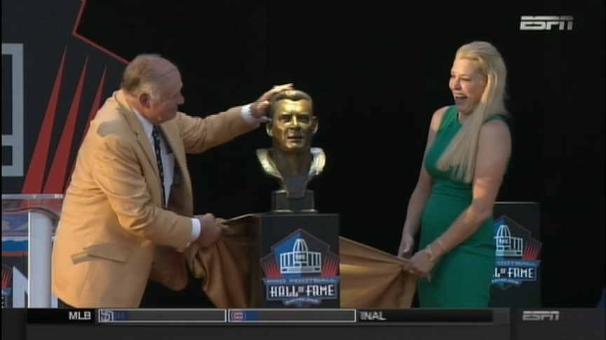 Jerry Kramer inducted into NFL Pro Football Hall of Fame