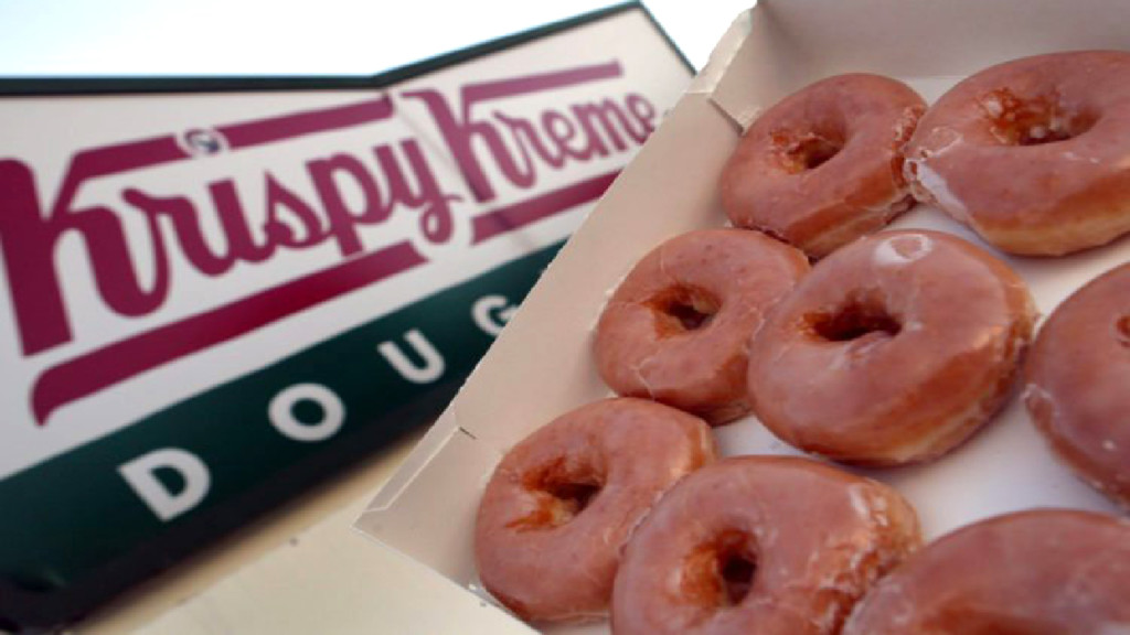 A dozen doughnuts for a dollar– today only!