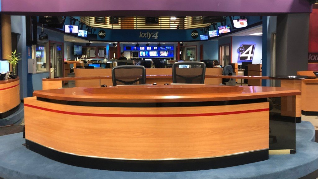 Construction underway on a new set, new look for KXLY