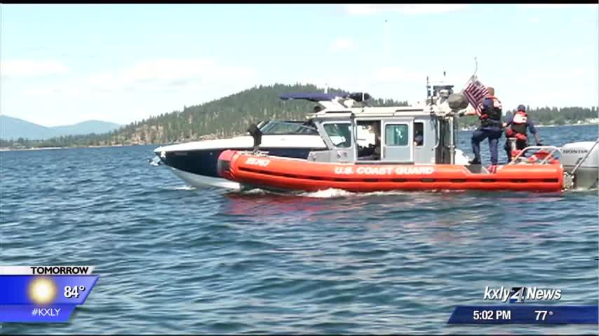 U.S. Coast Guard stops dozens of boats on Lake CDA over Fourth of July holiday