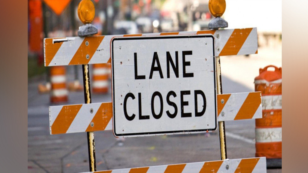 Single lane closure in Pullman