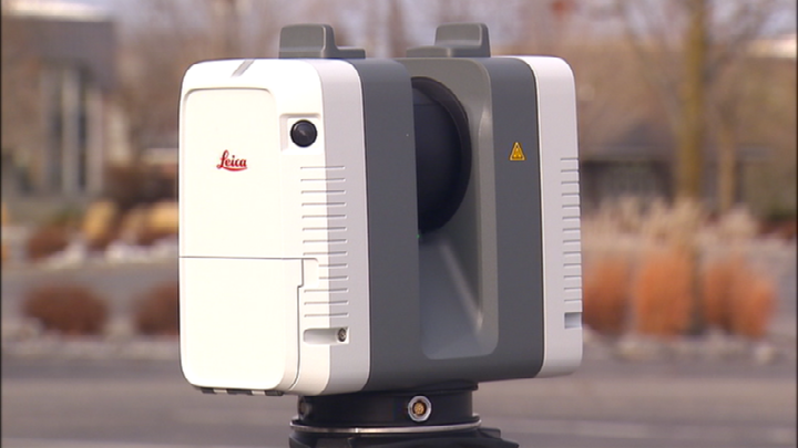 New laser scanner giving SPD a 3D view of crime scenes, collisions