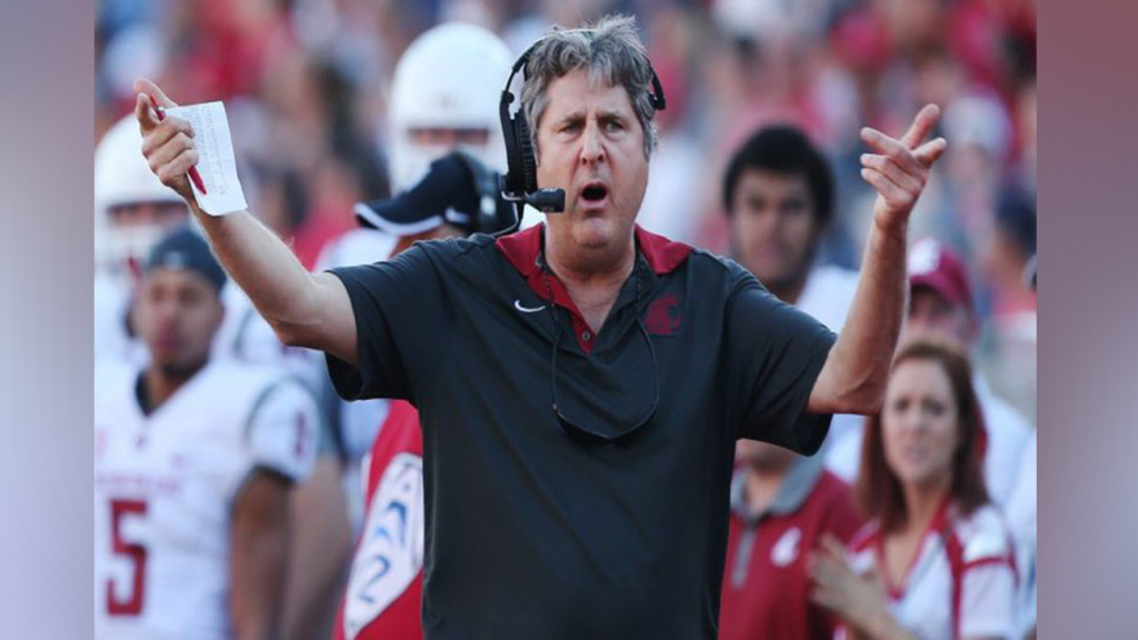 "Mike Leach to his team: ""You better improve or you'll be replaced"""