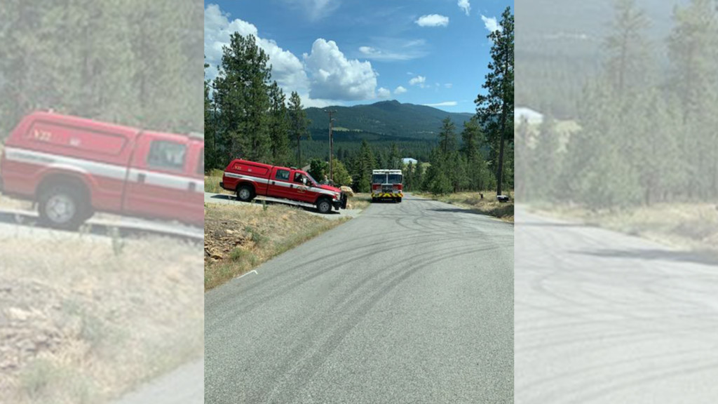 Firefighters extinguish 5-acre brush fire in Liberty Lake