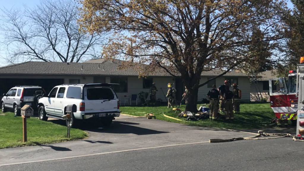 Spokane Valley Fire crews respond to house fire in Liberty Lake
