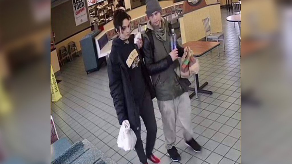 Liberty Lake Police looking for duo with stolen credit card
