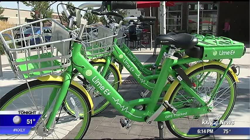 Lime Bikes have arrived in Spokane