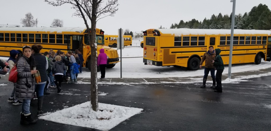 Students at Franklin Elem. in Pullman return to class following reports of natural gas smell