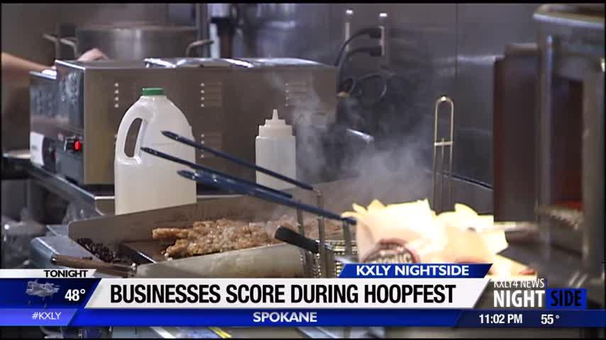 Local businesses net profits during Hoopfest weekend