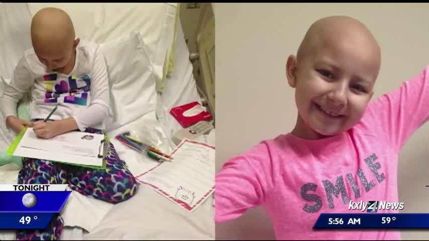 Local family reflects on love, support showed to them while their daughter battled cancer
