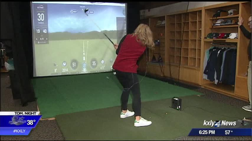 Local golf courses still closed for snow, but there is an indoor alternative