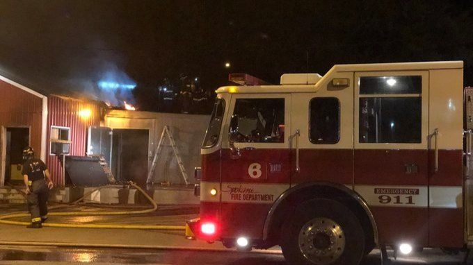 Despite fire in commissary building, Longhorn Barbecue will be open Monday, owner says