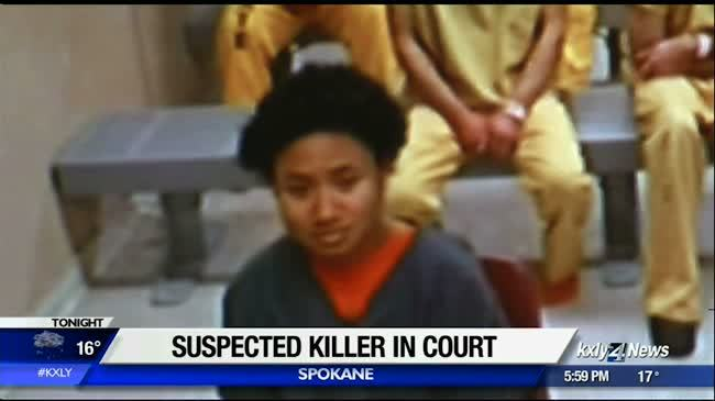 Lower South Hill murder suspect makes first court appearance