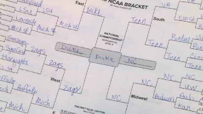 Washington sports betting laws won't stop fans from betting on their brackets
