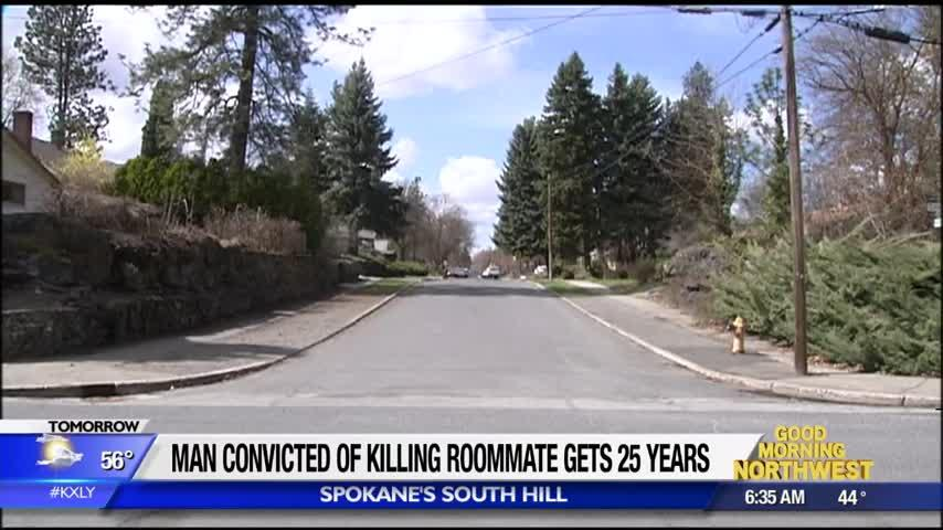 Man convicted of killing roommate, disposing of body in recycling bin, gets 25 years in prison