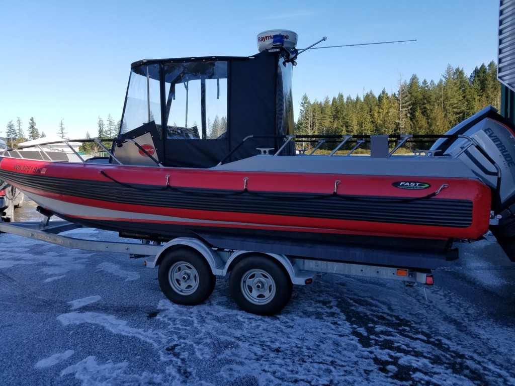 Lincoln County Sheriff deploys new boat for citizen assist on Lake Roosevelt