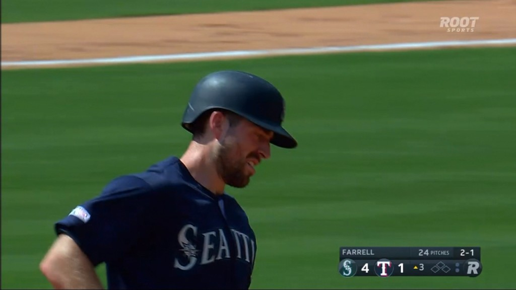 Seager, Murphy, Vogelbach homer, Mariners rout Rangers 11-3