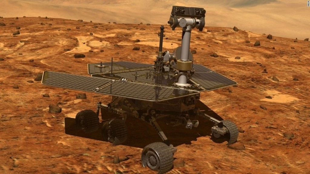 Opportunity's last message to NASA