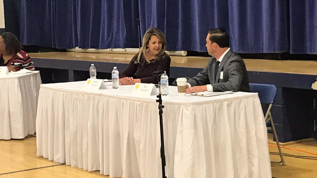 Mayoral candidates talk diversity at school board forum