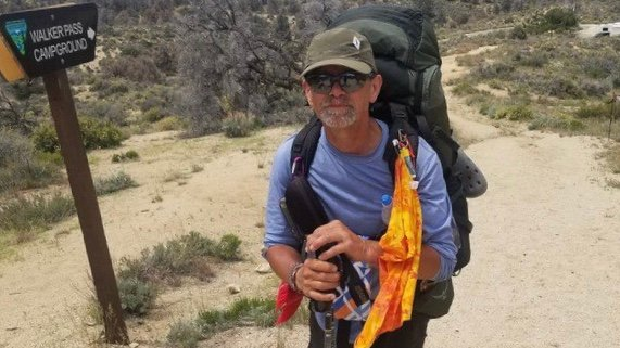 Washington hiker missing in California