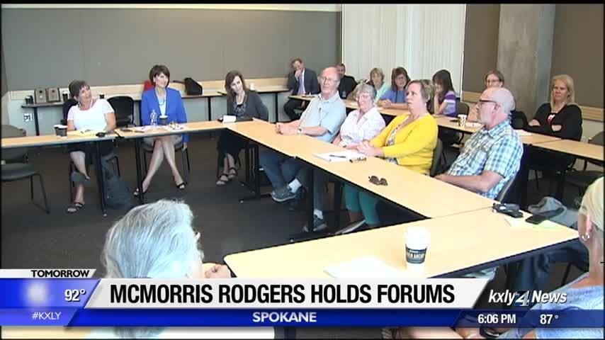McMorris Rodgers holds forums, meets with constituents