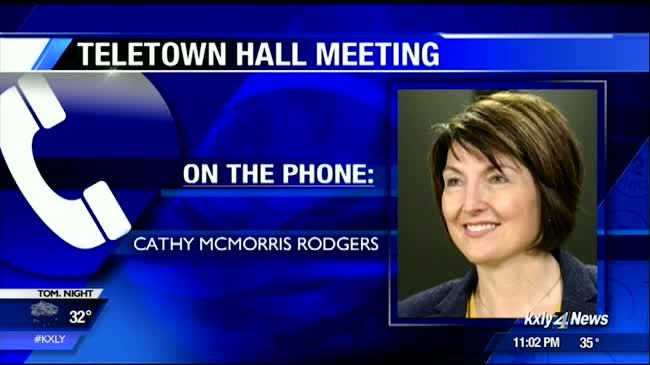 McMorris Rodgers' telephone town hall suffers technical difficulties
