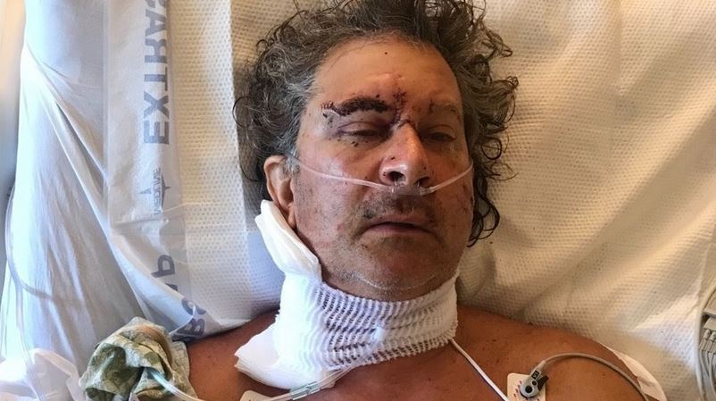 Family says man was stabbed 17 times by homeless man